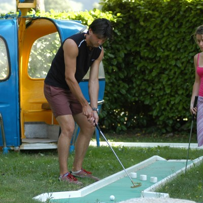 Camping Pyrénées Mini-golf